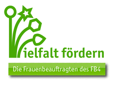Logo der Frauenbeauftragten des Fachbereichs 4